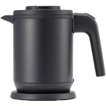 タイガー魔法瓶 蒸気レス電気ケトル(わく子) 0.8L マットブラック PCK-A080KM