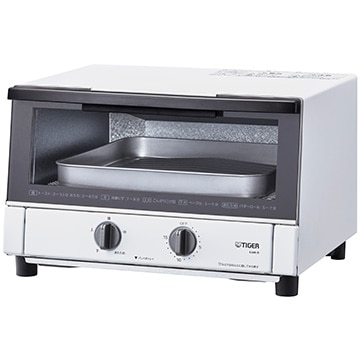 タイガー魔法瓶 オーブントースター(やきたて) 1300W マットホワイト KAM-R130WM