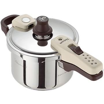 ワンダーシェフ 魔法のクイック料理 with Dog 片手圧力鍋 3L QSA30D