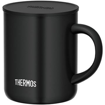 サーモス 真空断熱マグカップ 0.35L ブラック JDG-350C-BK