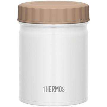 サーモス 真空断熱スープジャー 0.5L ホワイト JBT-500-WH