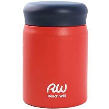 Reach Will ステンレス製真空フードポット 320ml マットレッド RBB-32MRD