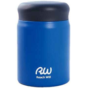 Reach Will ステンレス製真空フードポット 320ml マットブルー RBB-32MBL