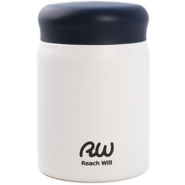Reach Will ステンレス製真空フードポット 320ml マットホワイト RBB-32MWH