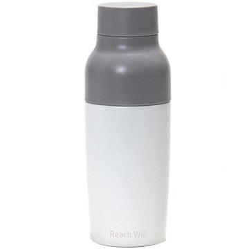 Reach Will vaseステンレス製真空マグボトル 380ml ホワイト RFC-38WH