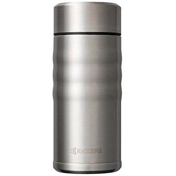 京セラ ★セラブリッドマグボトル 350ml シルバー スクリュー栓 セラミック塗装加工 コーヒーOK MB-12S_SS