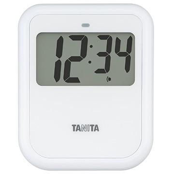 タニタ 非接触タイマー ホワイト TD-421WH