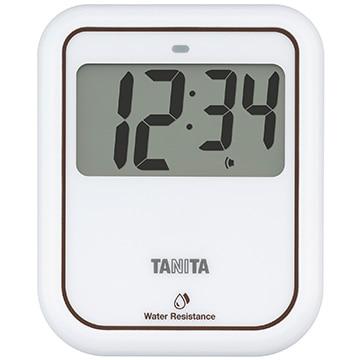 タニタ 非接触タイマー 洗えるタイプ ホワイト TD-422WH