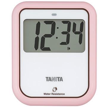 タニタ 非接触タイマー 洗えるタイプ ピンク TD-422PK