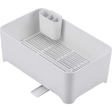 和平フレイズ 余白 洗い桶になる水切りケース ピュアホワイト MG-0311