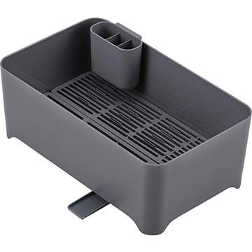 和平フレイズ 余白 洗い桶になる水切りケース ライトグレー MG-0312