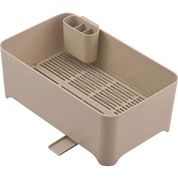 和平フレイズ 余白 洗い桶になる水切りケース ショコラブラン MG-0396