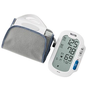 タニタ 上腕式血圧計 ホワイト BP224LWH