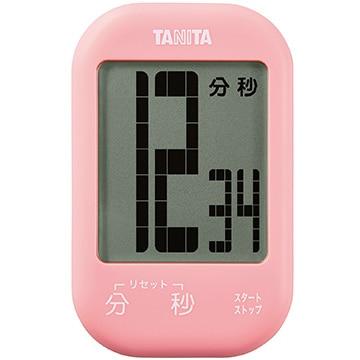 タニタ タッチキータイマー ピンク TD-413-PK