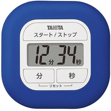 タニタ くるっとシリコーンタイマー ブルー TD-420-BL