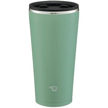 象印マホービン 魔法瓶 ステンレス タンブラー 蓋付き 保冷保温 450mL アッシュグリーン SXFA45GZ