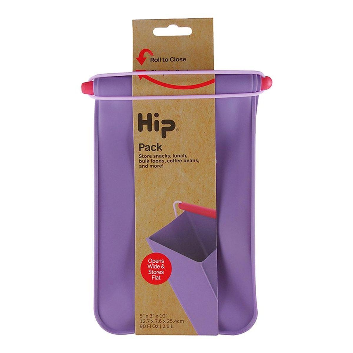 Hip Pack ロールバッグ シリコン製 ヒップパック M 2.6L プラム HIP34004