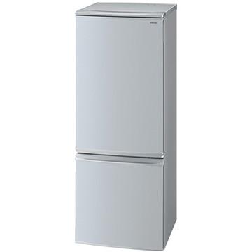 シャープ 2ドア冷蔵庫(167L) シルバー【大型商品(設置工事可)】 SJ-D17D-S