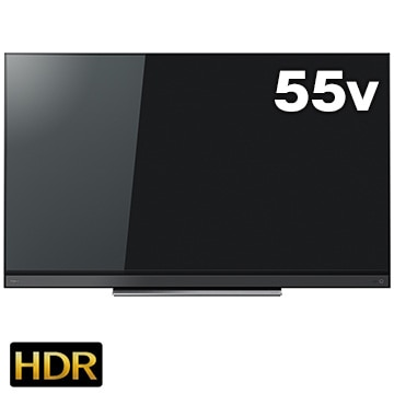 東芝 BS/CS 4K内蔵 重低音バズーカ55V型液晶 REGZA【大型商品(設置工事可)】 55BM620X
