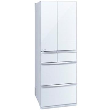 三菱電機 6ドア冷蔵庫(455L) MXシリーズ クリスタルホワイト【大型商品(設置工事可)】 MR-MX46E-W