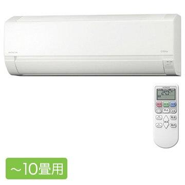 日立 ルームエアコン 白くまくん AJシリーズ おもに10畳用【大型商品(設置工事可)】 RAS-AJ28J-W