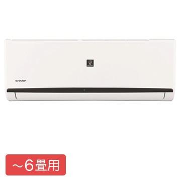シャープ ルームエアコン DHシリーズ おもに6畳用【大型商品(設置工事可)】 AY-J22DH-W