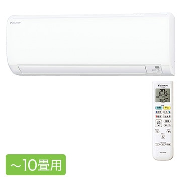 ダイキン ルームエアコン Eシリーズ おもに10畳用【大型商品(設置工事可)】 S28WTES-W