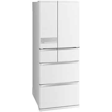 三菱電機 JXシリーズ 6ドア冷蔵庫470L クロスホワイト (フレンチドア)【大型商品(設置工事可)】 MR-JX47LTE-W