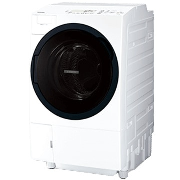 TOSHIBA ドラム式洗濯乾燥機 ZABOON(ザブーン) グランホワイト 左開きタイプ【大型商品(設置工事可)】 TW-117A8L-W