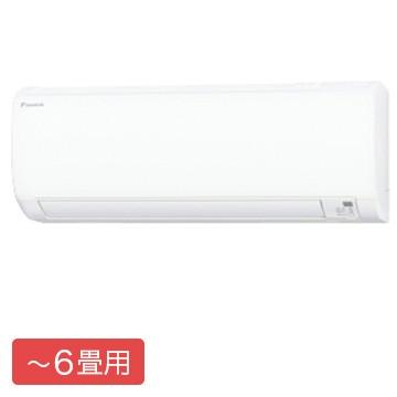 ダイキン Eシリーズ ルームエアコン おもに6畳用【大型商品(設置工事可)】 S22XTES-W