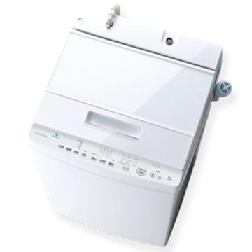 TOSHIBA 全自動洗濯機 8kg ZABOON グランホワイト【大型商品(設置工事可)】 AW-8D9-W