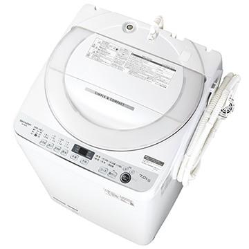 SHARP 全自動洗濯機 ES-GE7E-W