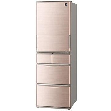 SHARP プラズマクラスター 5ドア冷蔵庫 412L SJ-W413G-T