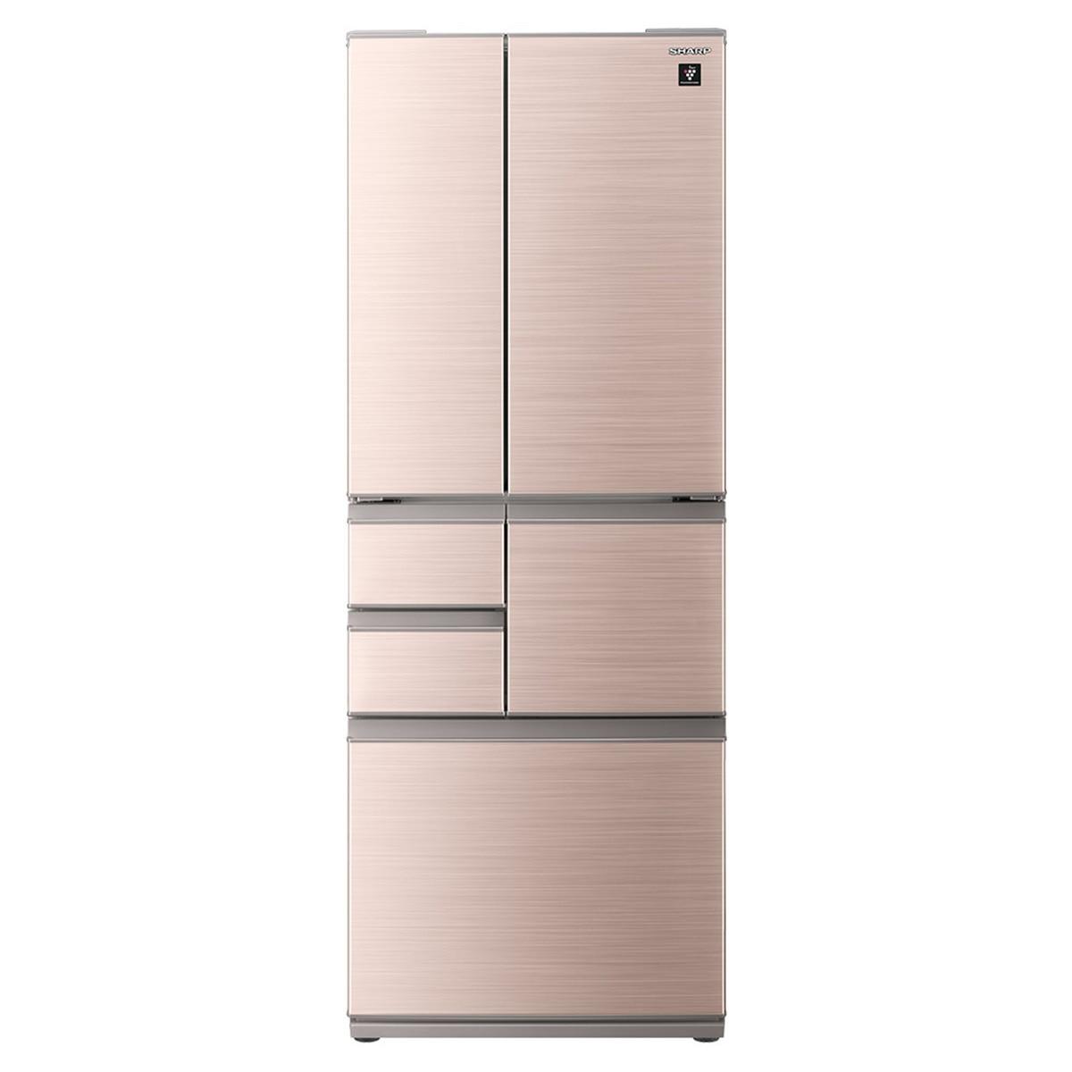 SHARP プラズマクラスター 6ドア冷蔵庫 502L シャインブラウン系【大型商品(設置工事可)】 SJ-X504H-T