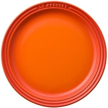 【ポイント10倍】ルクルーゼ ラウンド プレート LC19cm オレンジ 910140-19-09