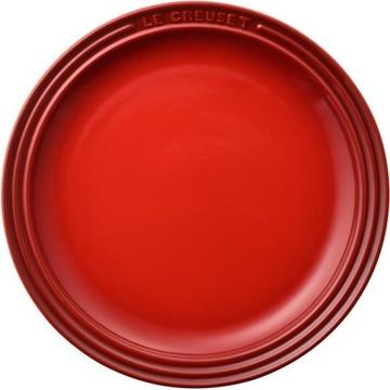【ポイント10倍】ルクルーゼ ラウンドプレートLC23cm チェリーレッド 910140-23-06