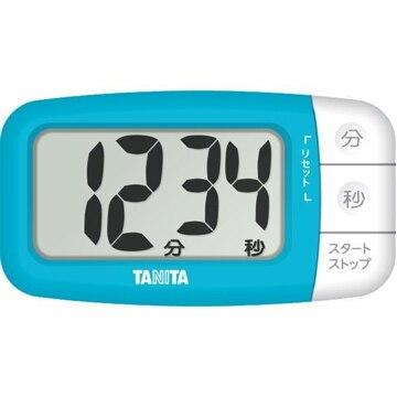 タニタ デジタルタイマー でか見えプラス フレッシュブルー TD394BL