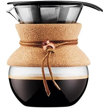 ボダムジャパン株式会社 プアオーバー ドリップ式 コーヒーメーカー 0.5L コルク 11592-109GB