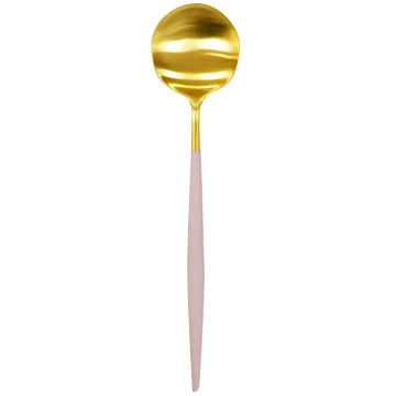 クチポール GOA(ゴア) テーブルスプーン ピンク×ゴールド GO05PKGB