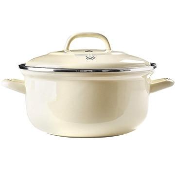 グリーンパン ザ・ダッチ ダッチオーブンホーロー鍋 20cm(2.5L)クリームホワイト CC002467-001
