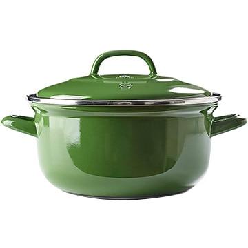 グリーンパン ザ・ダッチ ダッチオーブンホーロー鍋 20cm(2.5L)ヴィンテージグリーン CC002470-001