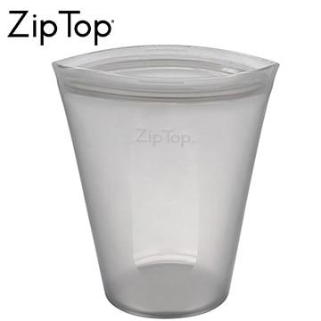 ジップトップ シリコン製保存容器 ZipTop カップ M グレー