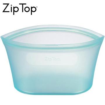 ジップトップ ZipTop シリコン製保存容器 ディッシュ L 946ml 食洗機対応 ティール