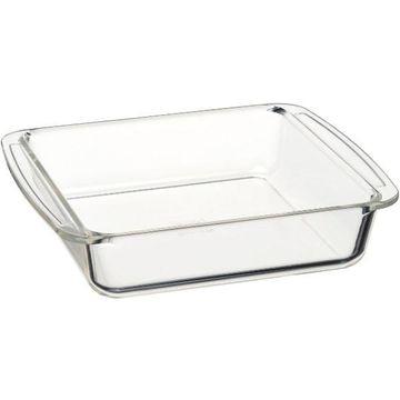 【ポイント10倍】AGCテクノグラス iwaki ケーキ焼き皿(角型:18×18cm) KBC221