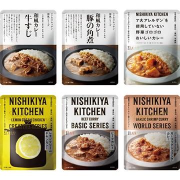 株式会社にしき食品 人気のカレー6食セット