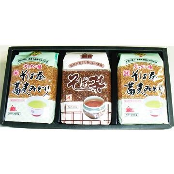 <ひかりTV>【送料無料 + ポイント10倍】そば茶詰合せ(そば茶・ダッタン種そば茶)画像