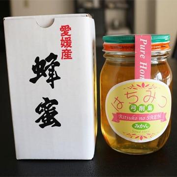 しまの会社 [愛媛産]100%純粋蜂蜜「弓削島みかんはちみつ」(500g)