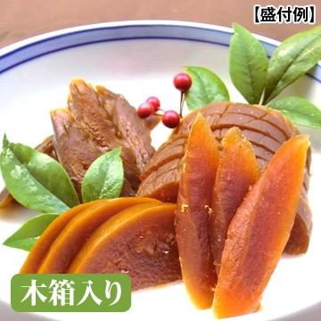 いせ弥 [奈良一奈良漬]4種詰合せセット(うり・きゅうり・すいか・守口大根)木箱入り