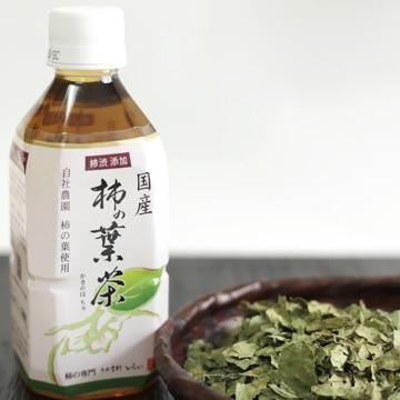 石井物産 [ノンカフェイン]奈良産 柿の葉茶 350ml×24本