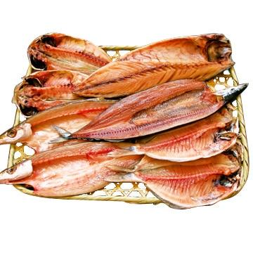 山市湯川商店 [しっかり朝食♪]朝飯5種王道干物セット